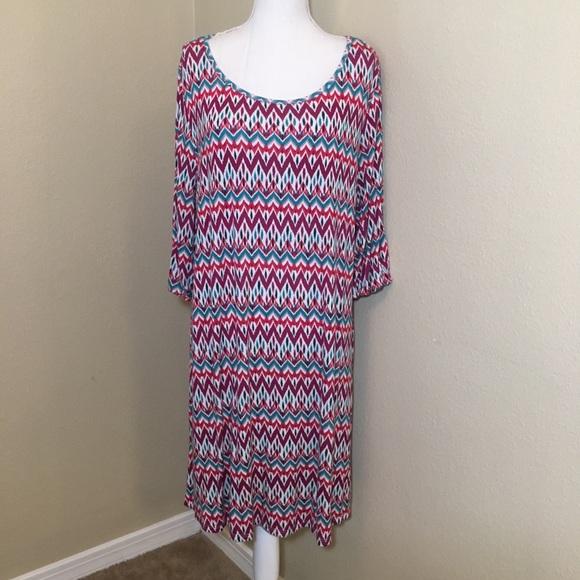 5b79b39a9de Market   Spruce Print Dress. M 5b9adb64aa57193988a629d4